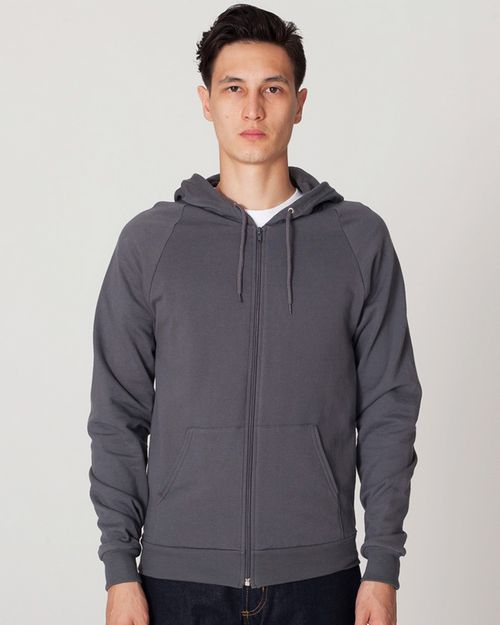 American Apparel 0331AM Caplifornia Zip Hood
