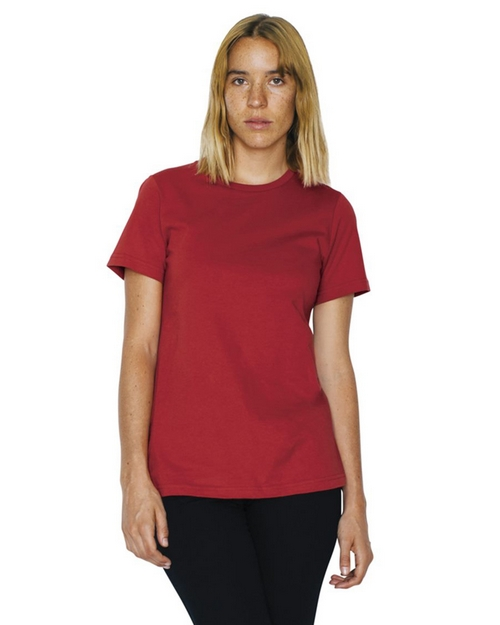 American Apparel 23215ORGW Womens Organic Fine Jersey Classic