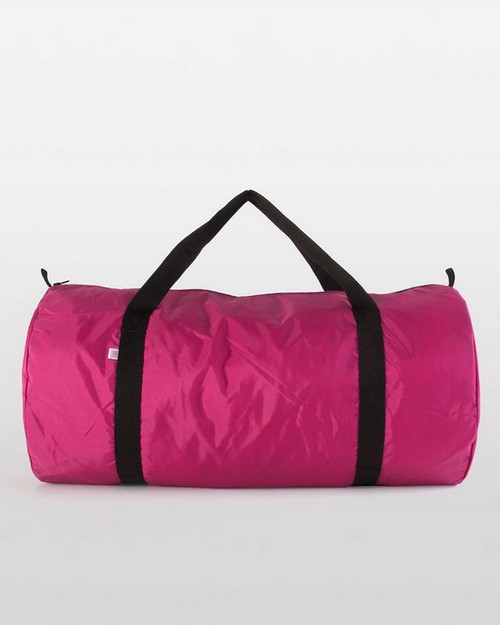 American Apparel B563 Drop Ship Nylon Weekender Duffle Bag