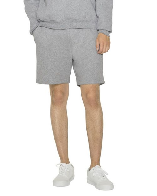 American Apparel HVF4529W Unisex Mason Fleece Gym Short