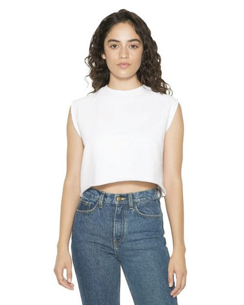 American Apparel HVT3370W Women's Heavy Terry Dance Top