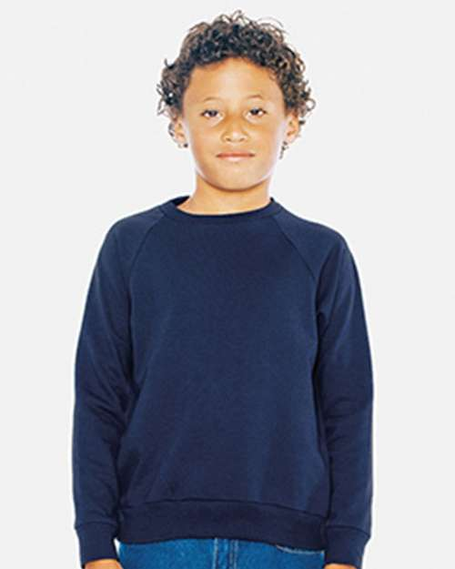 American Apparel RSA5254W Youth California Raglan Sweatshirt
