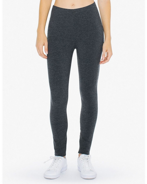 American Apparel Logo Embroidered Cotton Spandex Winter Legging - For Women