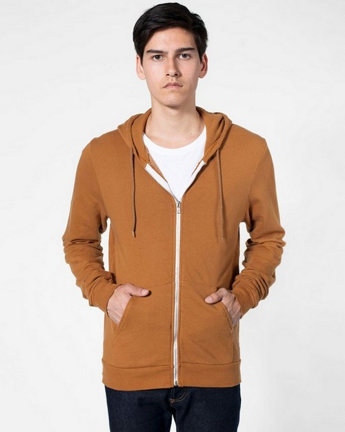 American Apparel SAFS400 Drop Ship French Terry Full Zip Hoodie