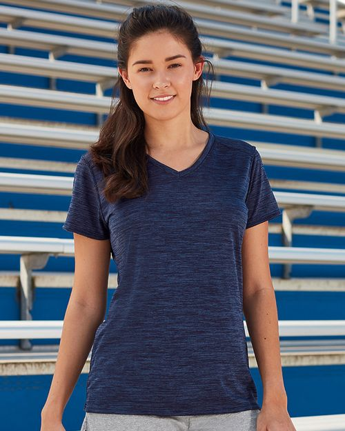 Augusta Sportswear 2902A Ladies Shadow Tonal Heather Tee