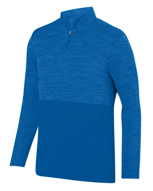 Augusta Sportswear 2908 Shadow Tonal Heather Quarter-Zip