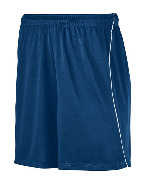 Augusta Sportswear 461 Youth Wicking Soccer Shorts with Piping