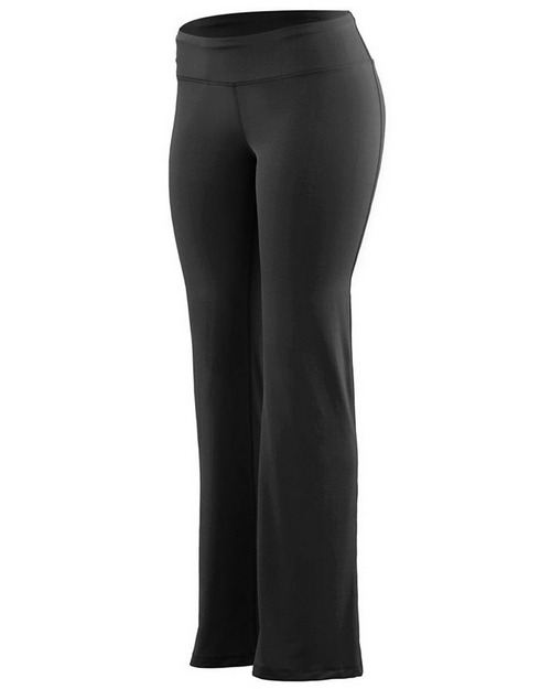 Augusta Sportswear 4815 Girls Wide Waist Brushed Back Pants