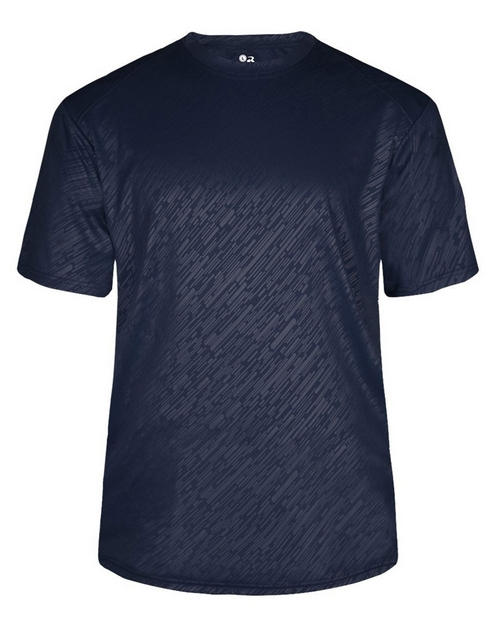 Badger 2131 Youth Line Embossed Tee