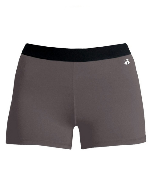 Badger 2629 Girls Pro-Compression Shorts