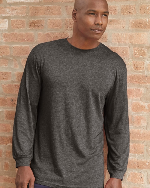 Badger 4944 Triblend Performance Long Sleeve T-Shirt