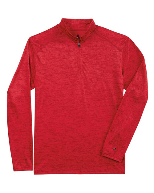 Badger BD4172 Tonal Blend Quarter Zip Pullover