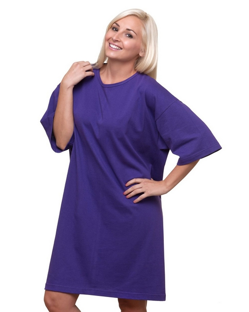 Bayside 3303 Scoop Neck Cover-Up