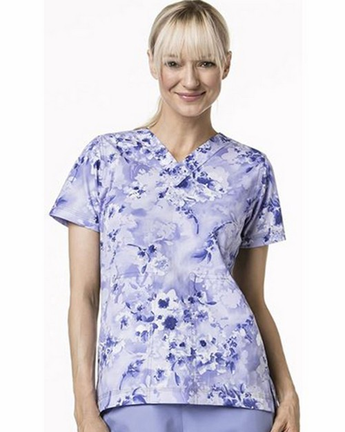 Carhartt C17007 Women's Print Fashion V-Neck Top
