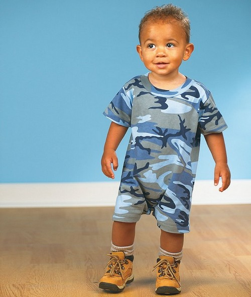 Code Five 4415 Infant Camouflage T-Romper