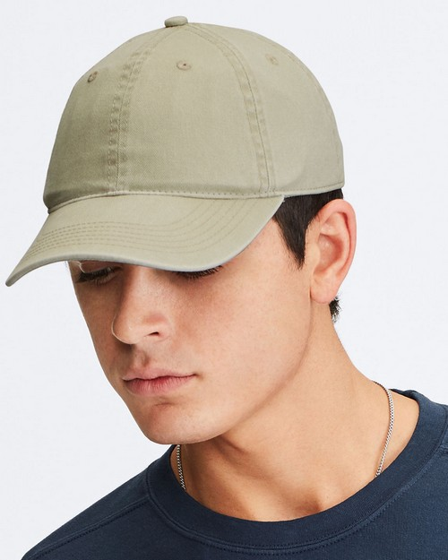 Comfort Colors CC103 Direct Dyed Canvas Baseball Cap