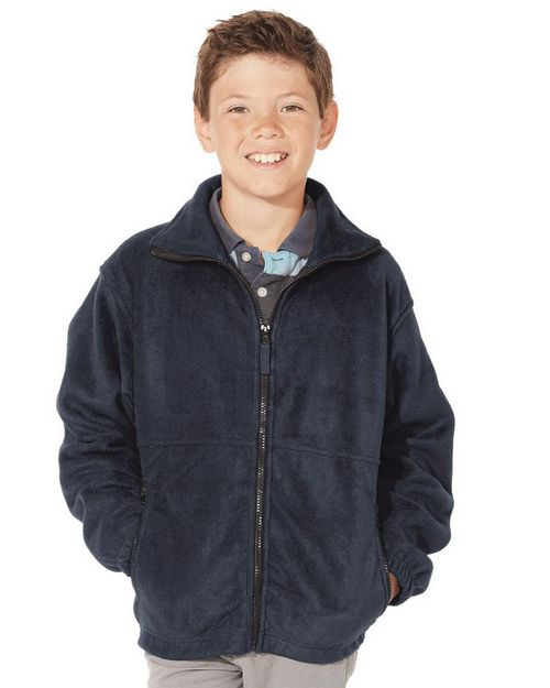 Featherlite 4061 Youth Anti-Pill Full-Zip Fleece