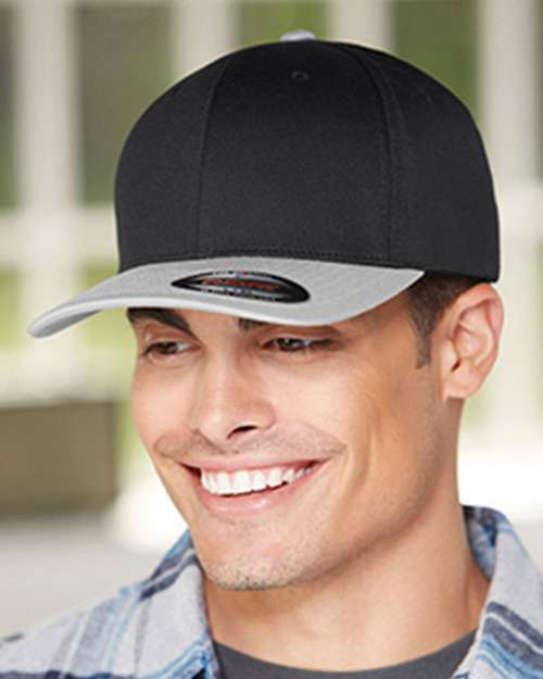 Flexfit 6277T Wool Combed Two Tone Twill Cap
