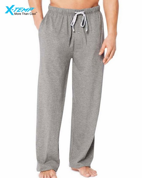 Hanes 01101 X-Temp Mens Jersey Pant With Comfortsoft Waistband