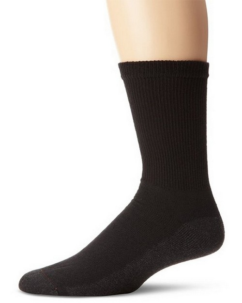 Hanes 185 Mens Active Crew Socks (Pack of 6)