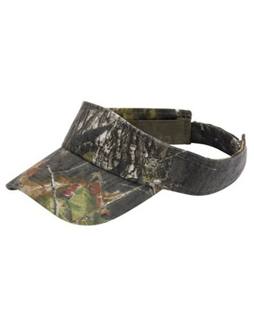 Kc Caps KC4710 Mossy Oak Break Up Visor