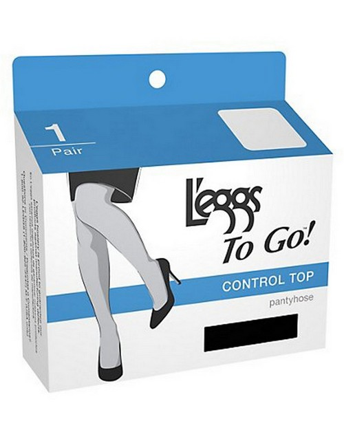 L'Eggs 15201 To Go Women's Control Pantyhose