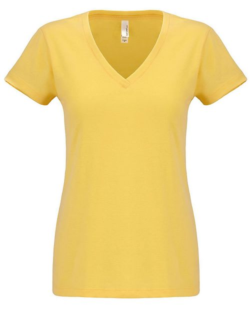 Next Level NL6480 Ladies Sueded V-Neck
