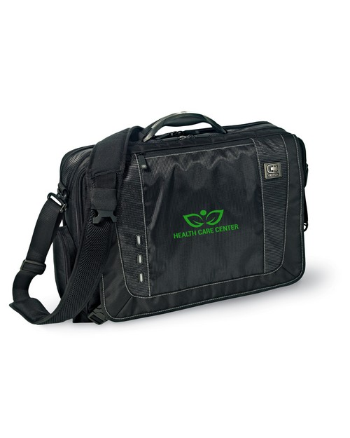 Ogio Logo Embroidered Explorer Messenger Bag