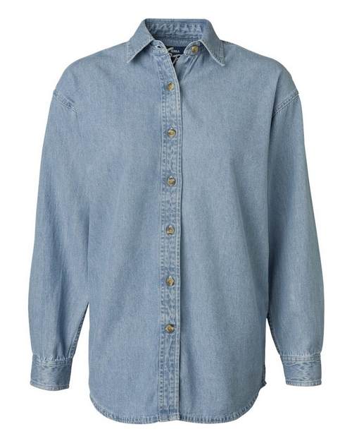 Sierra Pacific 5211 Womens Long Sleeve Denim Shirt