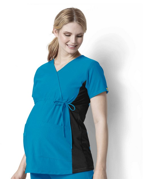 Wonderwink LB6445 Women's Maternity Stretch Top