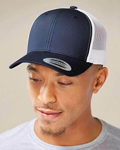 8ab672d59 Yupoong 6606T Two Tone Retro Trucker Cap