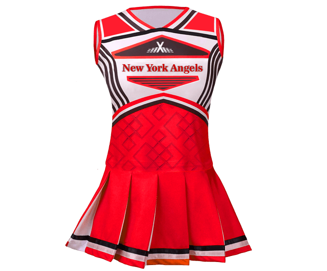 Custom Sublimated Cheer Team Uniform
