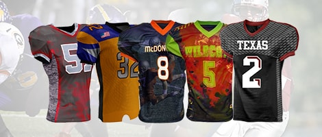 Stock Football Jerseys