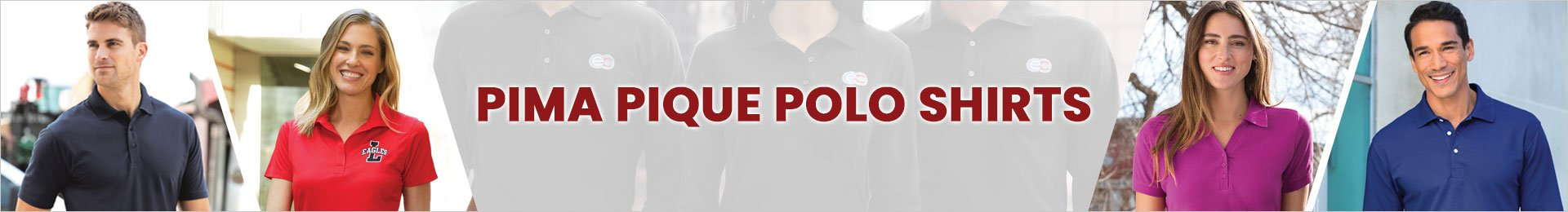 Wholesale Pima Pique Polo Shirts