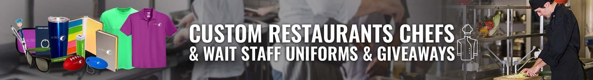 Custom Restaurants, Chefs, & Wait Staff T-Shirts