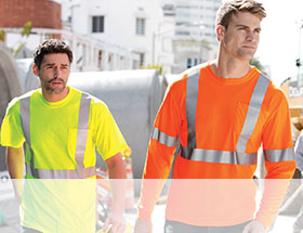 SAFETY & HI-VISIBILITY WORK WEAR