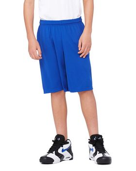 All Sport Y6707 Youth Mesh 9 Short