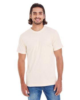 American Apparel 2001OR Men's Drop Ship Short Sleeve Organic Cotton Tee