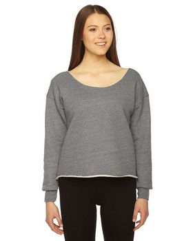 American Apparel HVT316W Ladies Athletic Crop Sweatshirt