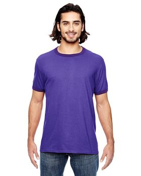 Anvil 988AN Men's Lightweight Ringer T-Shirt