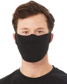 Bella + Canvas GFM Guard Face Fleece Mask - Black - One Size - $2.48