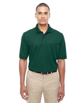 Core365 88222 Men's Motive Performance Pique Polo with Tipped Collar