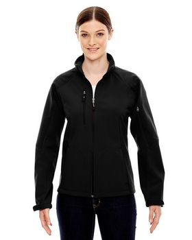 North End 78077 Women's Compass Color Block Soft Shell Jacket