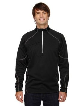 North End 88175 Catalyst Men's Performance Fleece Half-Zip Top