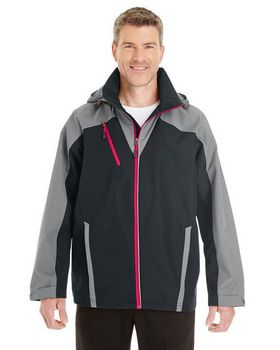 North End NE700 Men's Embark Colorblock Interactive Shell