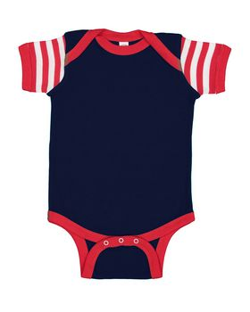 Navy/ Red/ Red/ White Stripe