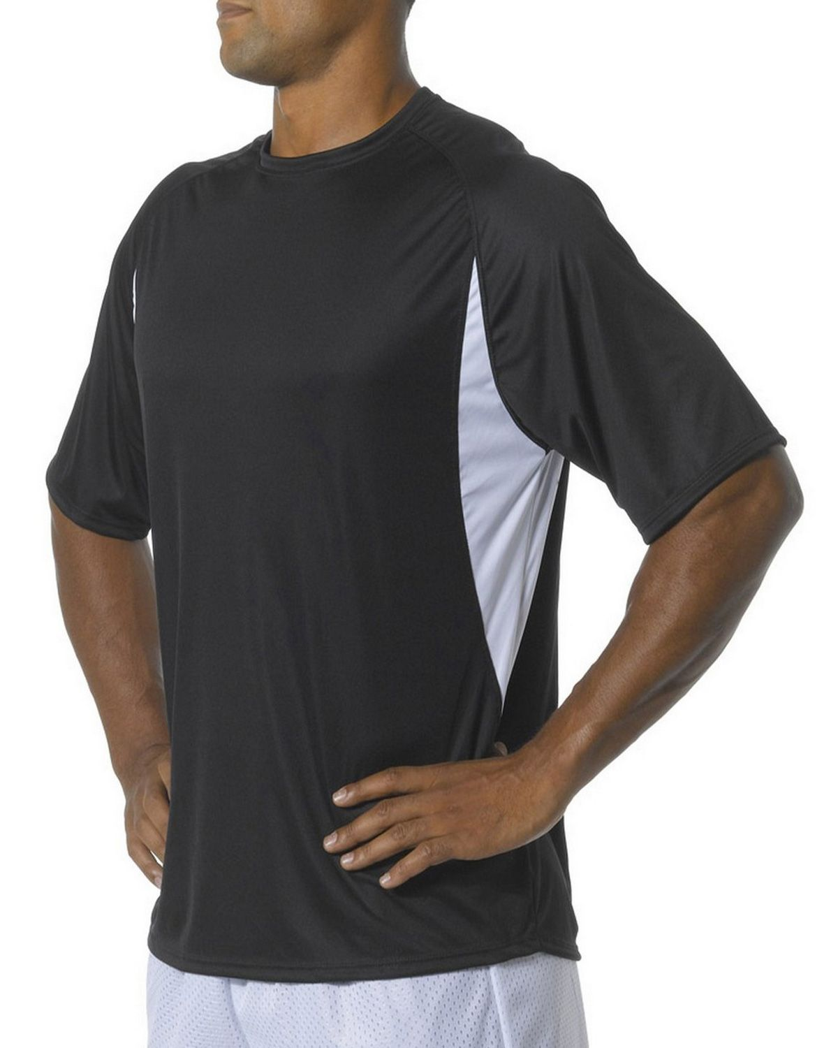 A4 N3181 Men's Cooling Performance Color Block Tee
