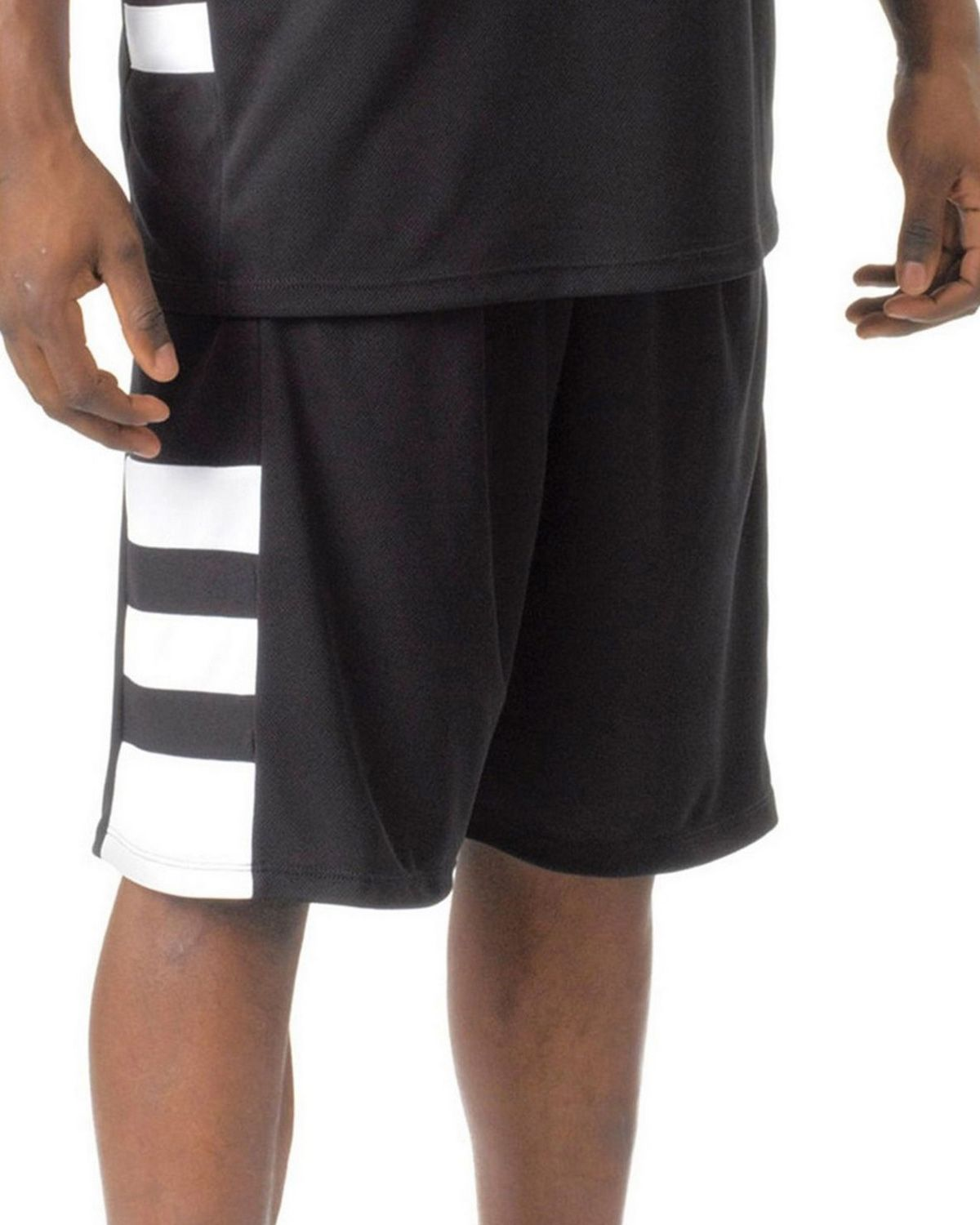 A4 N5334 Men's Reversible Speedway 10 Short