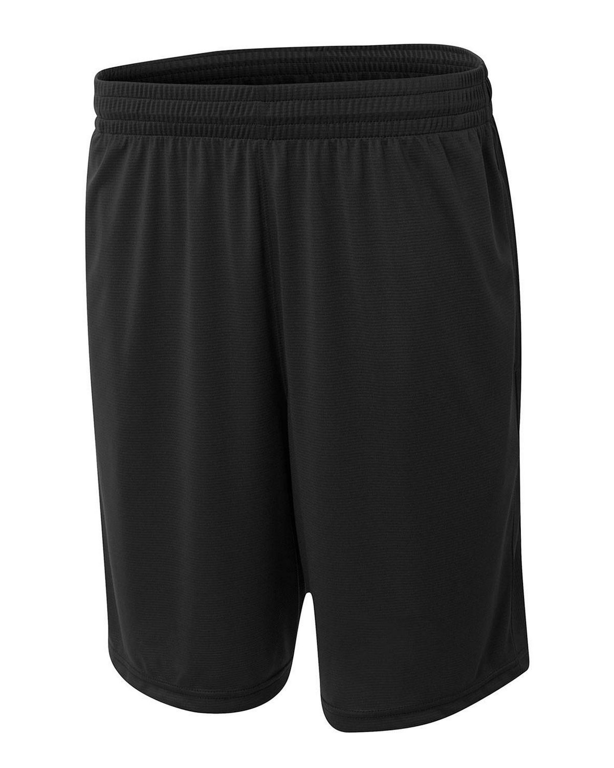 A4 N5370 Men's Player 10 inch Pocketed Polyester Short