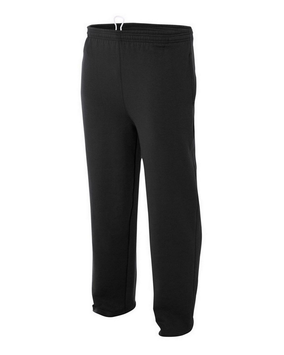 A4 N6193 Adult Tech Fleece Pants - Black - XL N6193